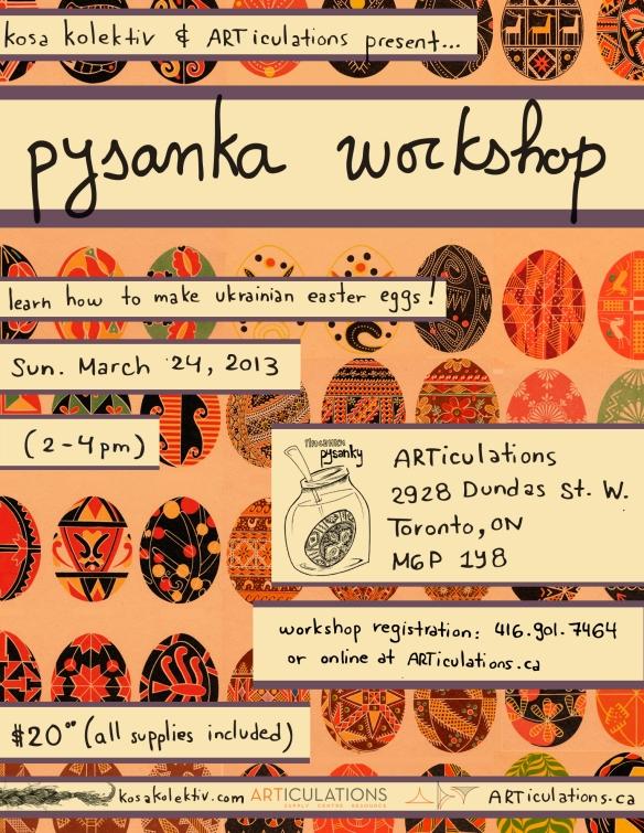 pysanka poster articulations 2013